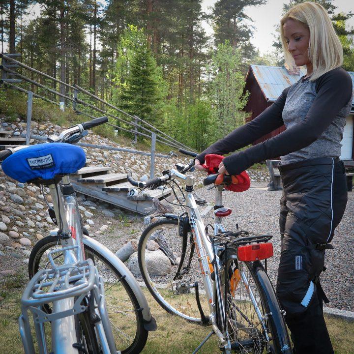 THERMOTIC® Cykelsadel Sittvärmeskydd